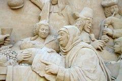 скульптура песка Стоковые Изображения