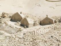 скульптура песка Стоковое Изображение