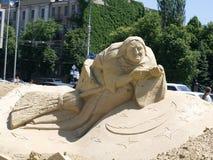 скульптура песка Стоковое фото RF