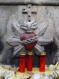 скульптура сердца Стоковое фото RF
