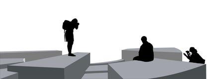 скульптура фотографов Стоковые Фото