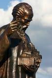 скульптура христианского ohrid правоверная Стоковые Изображения RF