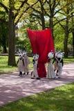 скульптура церемонии возобновленная отверстием Стоковое Изображение