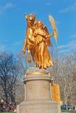 Скульптура Шермана центрального парка Нью-Йорка мемориальная стоковая фотография