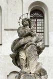Скульптура Capuchins монастыря Olesko, Украины стоковая фотография