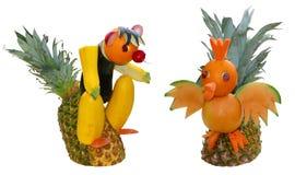 скульптура fruit1 Стоковые Фотографии RF