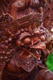 скульптура garuda balinese деревянная Стоковые Фото