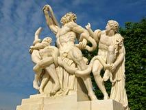 Скульптура Laocoon на Версале Стоковое Изображение
