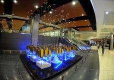 скульптура larnaca авиапорта самомоднейшая Стоковые Изображения