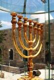 скульптура menorah Стоковые Фото