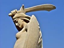 скульптура mermaid Стоковые Изображения