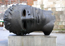 скульптура mitoraj igor Стоковое Изображение RF