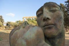 скульптура mitoraj igor стоковые фото