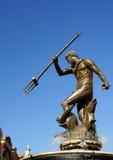 скульптура neptun gdansk фонтана Стоковая Фотография RF