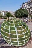скульптура paris травы Стоковое Изображение RF