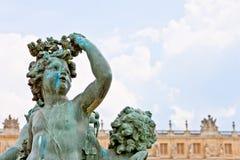 скульптура versailles дворца 3 купидонов Стоковая Фотография RF