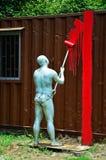 Скульптура Whitewasher стоковые изображения rf