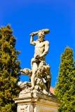Скульптуры в парке дворца Branicki библиографий Стоковое Изображение RF