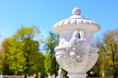 Скульптуры в парке дворца Branicki библиографий Стоковое Изображение