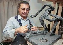 Скульптор стоковое фото