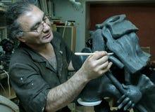 Скульптор стоковые фотографии rf
