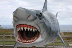 Скульптура акулы Стоковые Фото