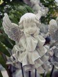 Скульптура Анджела Стоковое Изображение