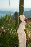 Скульптура беременной женщины Стоковая Фотография