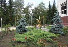Скульптура беркута Стоковое Изображение