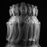 Скульптура бодхисаттвы/Guan Yin/Guanshiyin Avalokitasvara Стоковые Изображения