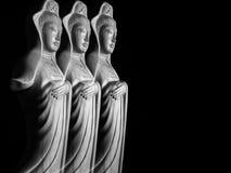 Скульптура бодхисаттвы/Guan Yin/Guanshiyin Avalokitasvara Стоковое фото RF