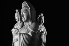 Скульптура бодхисаттвы/Guan Yin/Guanshiyin Avalokitasvara Стоковые Фото