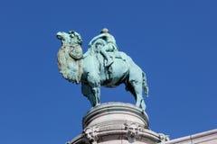Скульптура верблюда на зоопарке в Антверпене, Бельгии Стоковые Изображения