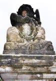 Скульптура в виске Стоковая Фотография