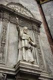 Скульптура в католическом соборе Стоковое фото RF