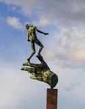 Скульптура в королевском ботаническом саде Мельбурне, Австралии Стоковая Фотография