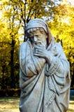 Скульптура в осени Kachanovka имущества Стоковое фото RF