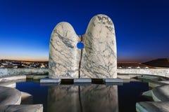 Скульптура в Evora Стоковая Фотография