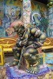 Скульптура гигантской богини Стоковая Фотография RF