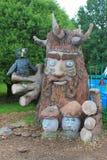 Скульптура гоблина Стоковая Фотография RF