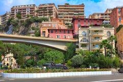 Скульптура гоночного автомобиля в центре Монте-Карло. Стоковая Фотография RF