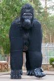 Скульптура гориллы Стоковые Изображения RF
