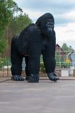 Скульптура гориллы Стоковое Изображение