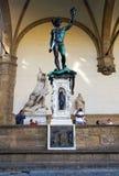 Скульптура головы Perseus и Мадам Стоковое Изображение RF