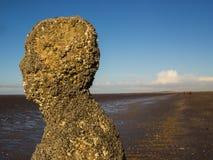 Скульптура голов и плечи стоковое изображение rf