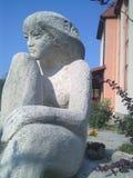 Скульптура девушки Стоковые Фото