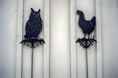 Скульптура животного сада Стоковые Изображения