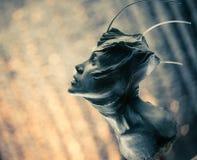 Скульптура изверга Стоковые Изображения