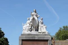 Скульптура иносказания Европы Стоковая Фотография RF