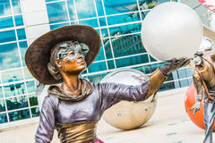 Скульптура искусства Illumina Стоковая Фотография RF